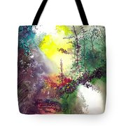 Back To Jungle Tote Bag by Anil Nene