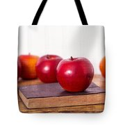Back to School Apples Tote Bag by Edward Fielding