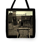 Back Yard Gold Mine Tote Bag by Barbara St Jean
