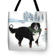 Bah Humbug Merry Christmas Large Tote Bag by Liane Weyers