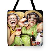 Bahama Mamas Tote Bag by Shelly Wilkerson