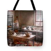 Baker - Kitchen - The Commercial Bakery  Tote Bag by Mike Savad