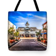 Balboa Main Street In Newport Beach Picture Tote Bag by Paul Velgos
