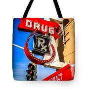 Balboa Pharmacy Drug Store Newport Beach Photo Tote Bag by Paul Velgos