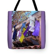 Balcony Tote Bag by Ben and Raisa Gertsberg