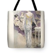 Ball Gown Tote Bag by French School