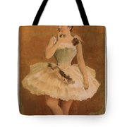 Ballet Tote Bag by Aged Pixel