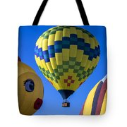 Ballooning Tote Bag by Garry Gay