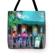 Baltimore - Happy Hour In Fells Point Tote Bag by Susan Savad