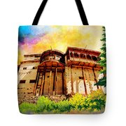 Baltit Fort Tote Bag by Catf