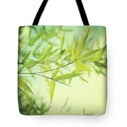 Bamboo In The Sun Tote Bag by Priska Wettstein