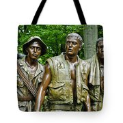 Band Of Brothers Tote Bag by Christi Kraft