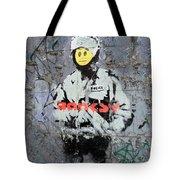Banksy  Tote Bag by A Rey