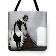 Banksy Maid Tote Bag by A Rey