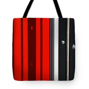 Bar Code Tote Bag by Wendy Wilton
