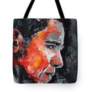 Barack Obama Tote Bag by Richard Day