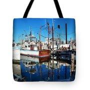 Barb Gail Harbor Corner Tote Bag by Michael Thomas