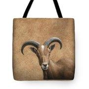 Barbary Ram Tote Bag by James W Johnson