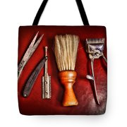 Barber - After The Haircut Tote Bag by Paul Ward
