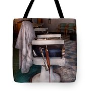 Barber - Frenchtown Nj - We Have Some Free Seats  Tote Bag by Mike Savad