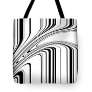 Barcode II  C2014 Tote Bag by Paul Ashby