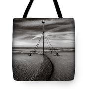 Barkby Beach 2 Tote Bag by Dave Bowman