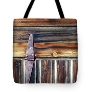 barn door Tote Bag by Wayne Sherriff