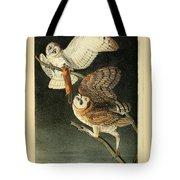 Barn Owls Tote Bag by Philip Ralley