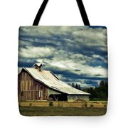 Barn Tote Bag by Steve McKinzie