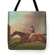 Baronet With Sam Chifney Up Tote Bag by George Stubbs
