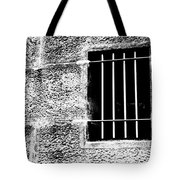 Barred Tote Bag by Justin Woodhouse