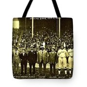 Barriers Tote Bag by Benjamin Yeager