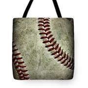 Baseball - A Retired Ball Tote Bag by Paul Ward