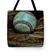 Baseball Broken In Tote Bag by Paul Ward
