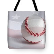 Baseball Tote Bag by Heidi Smith
