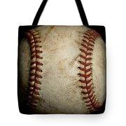Baseball Seams Tote Bag by David Patterson