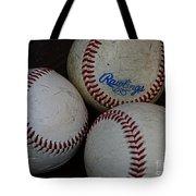 Baseball - The American Pastime Tote Bag by Paul Ward