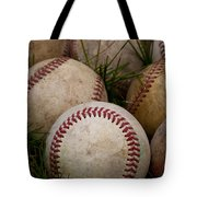 Baseballs Tote Bag by David Patterson