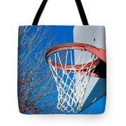 Basketball Net Tote Bag by Valentino Visentini