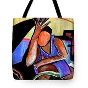 Basketball Practice Tote Bag by JAXINE Cummins