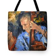 Bass Man Tote Bag by Anthony Falbo