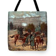 Battle Of Chattanooga Tote Bag by American School