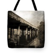 Bay View Bridge Tote Bag by Scott Pellegrin