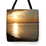 Bayville Sunset Tote Bag by John Telfer