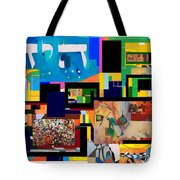 be a good friend to those who fear Hashem 2 Tote Bag by David Baruch Wolk