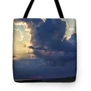 Be Still And Know That I Am God Tote Bag by Skip Tribby