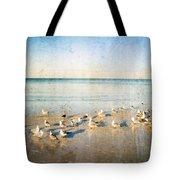 Beach Combers - Seagull Art By Sharon Cummings Tote Bag by Sharon Cummings