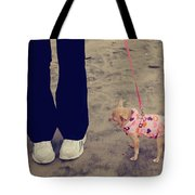 Beach Walk Tote Bag by Laurie Search