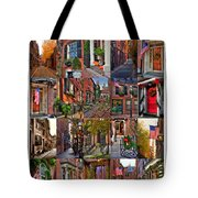 Beacon Hill - Poster Tote Bag by Joann Vitali