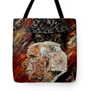 Bear Bryant And Mal Moore  Tote Bag by Mark Moore